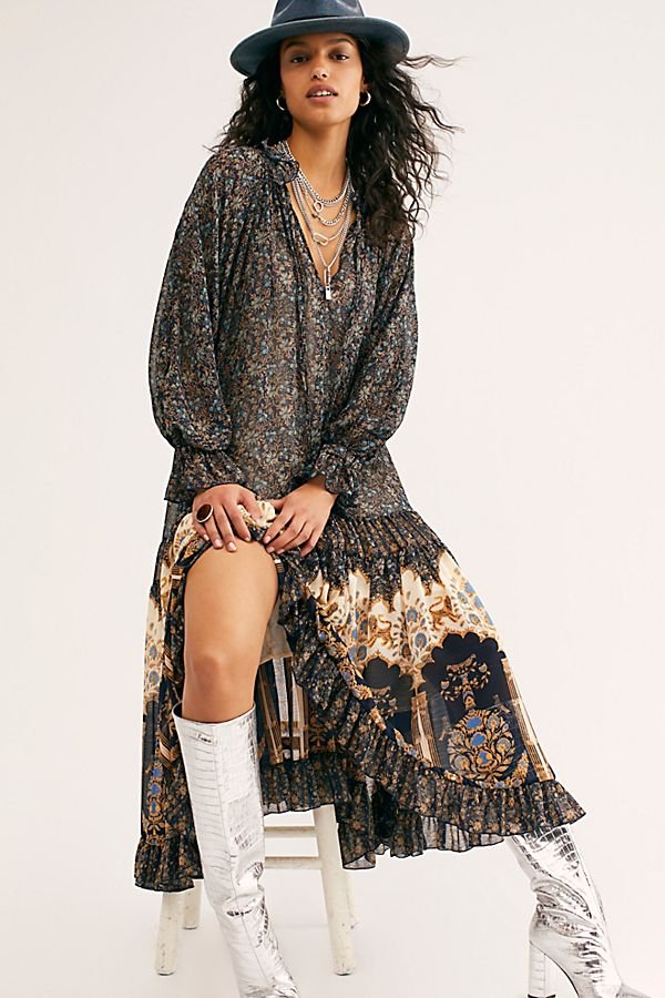 Free People Feeling Groovy Maxi Dress