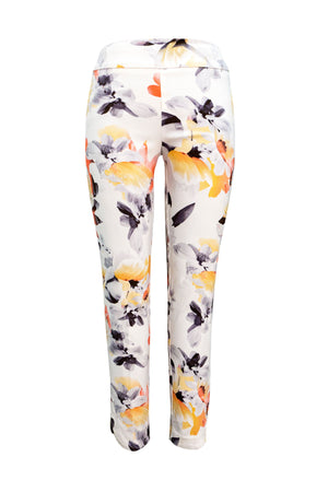 Floral Printed Pull On Pant