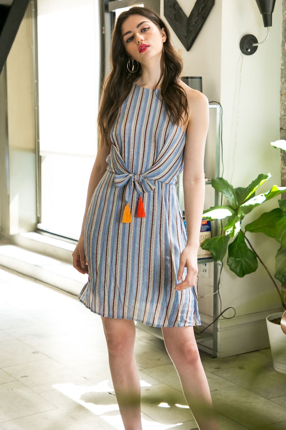 Multi Colored Stripe Dress