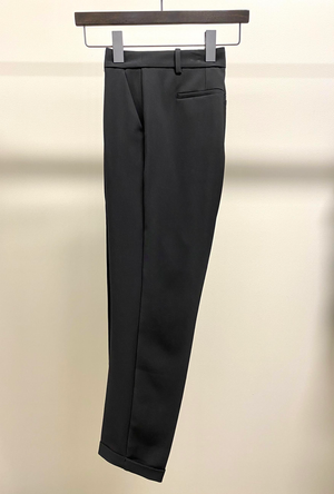 Black Dress Pant with Cuff