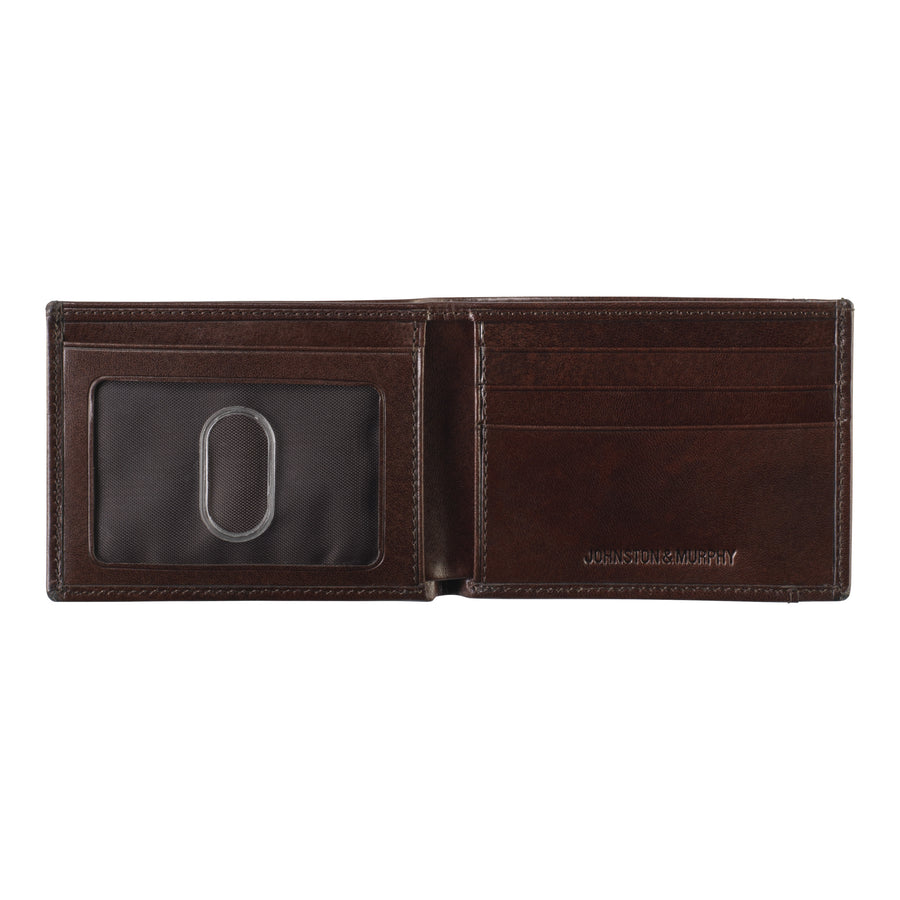 Johnston and Murphy Italian Leather Wallet