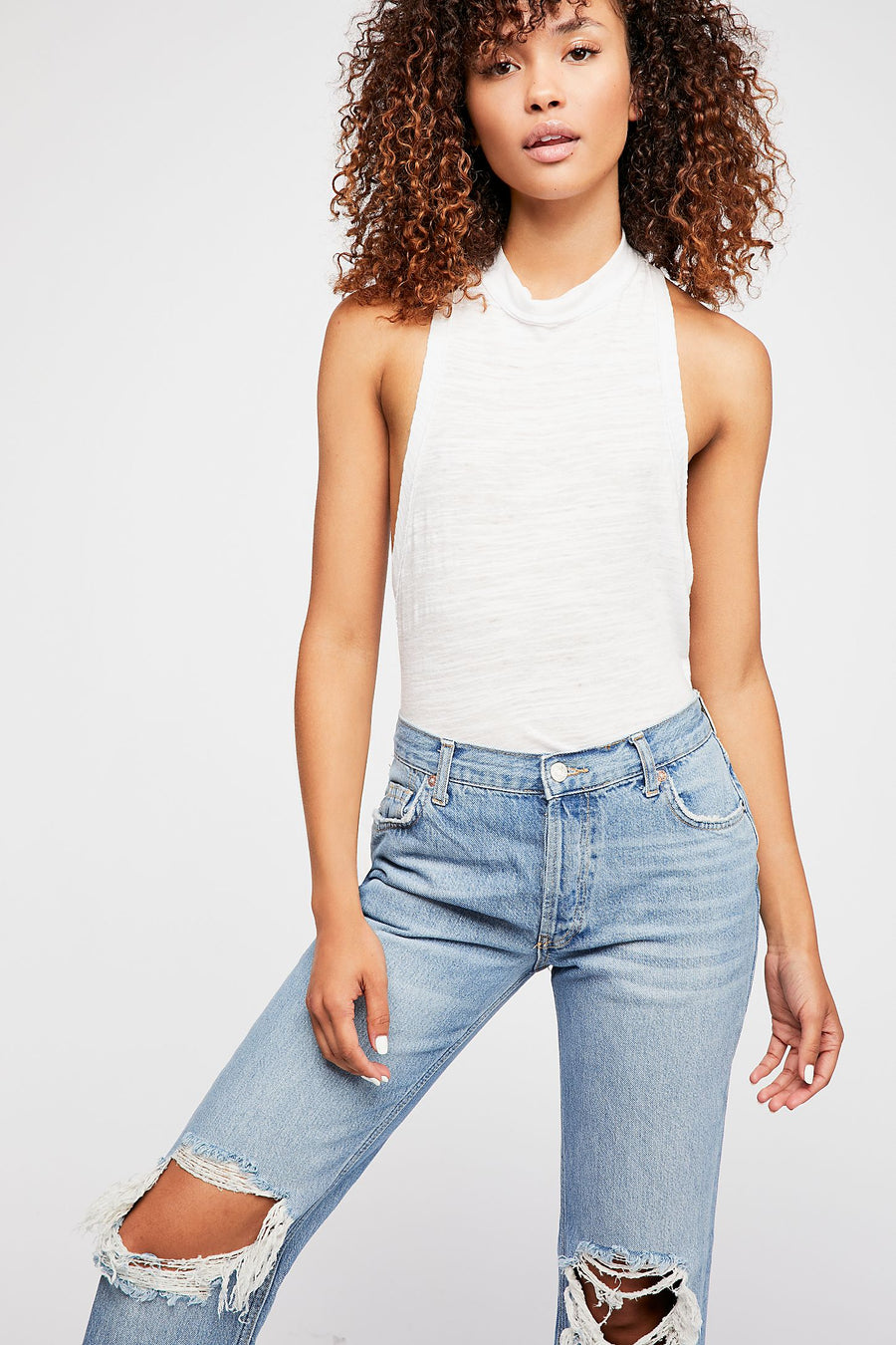 Free People Straight Maggie Jean