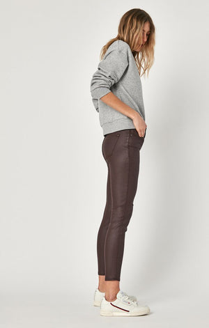 Mavi Tess Bordeaux Jeather Pant