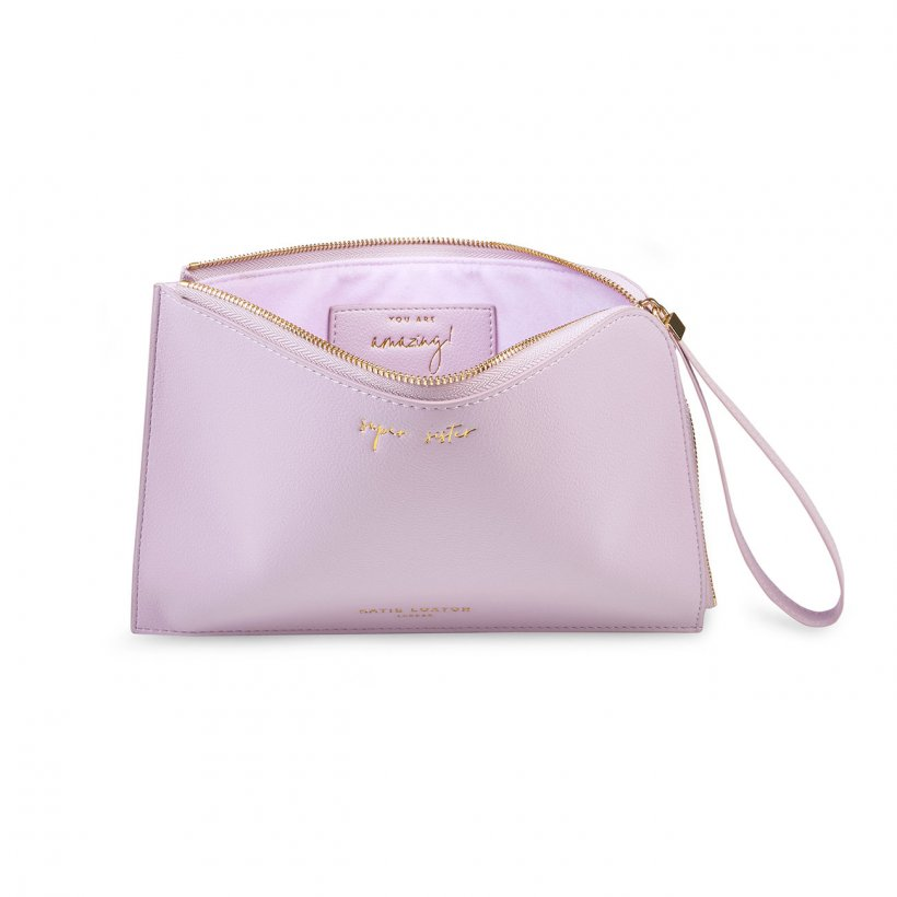Katie Loxton Secret Message Pouch- Super Sister