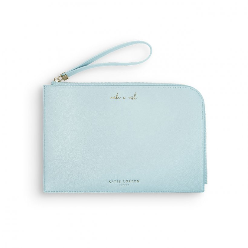Katie Loxton Secret Message Pouch- Make A Wish