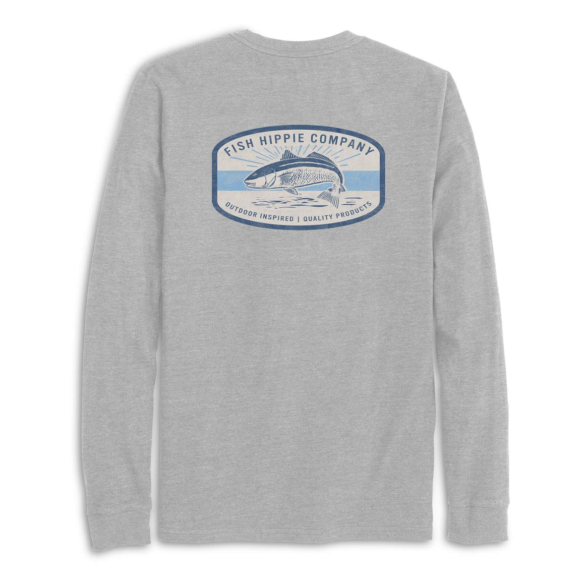 Fish Hippie Noble Red Long Sleeve