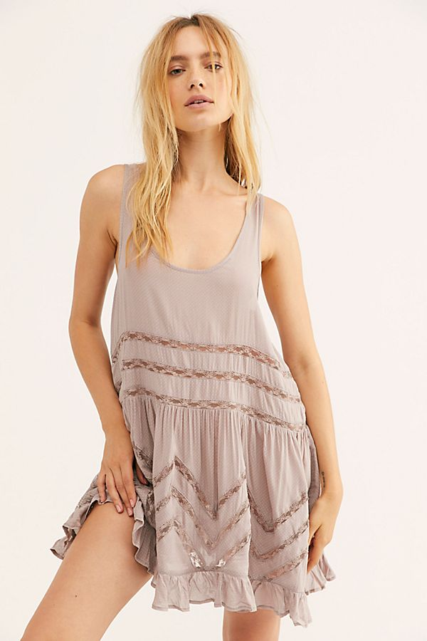 Free People Slip Voile Trapeze