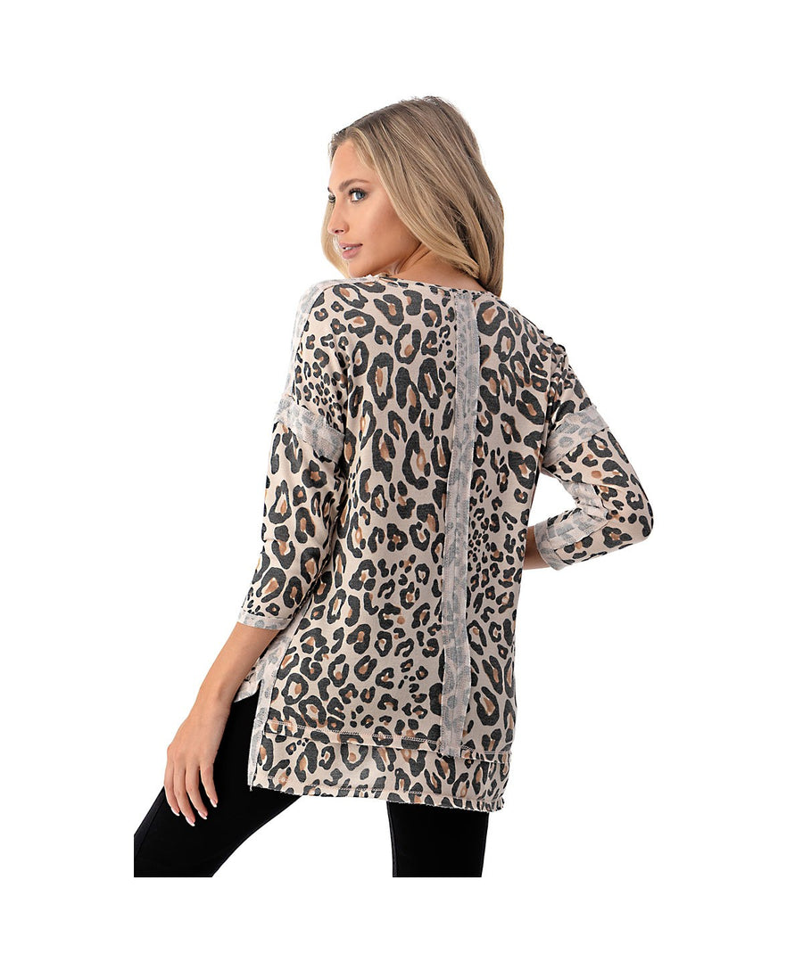 Everyday Leopard Top