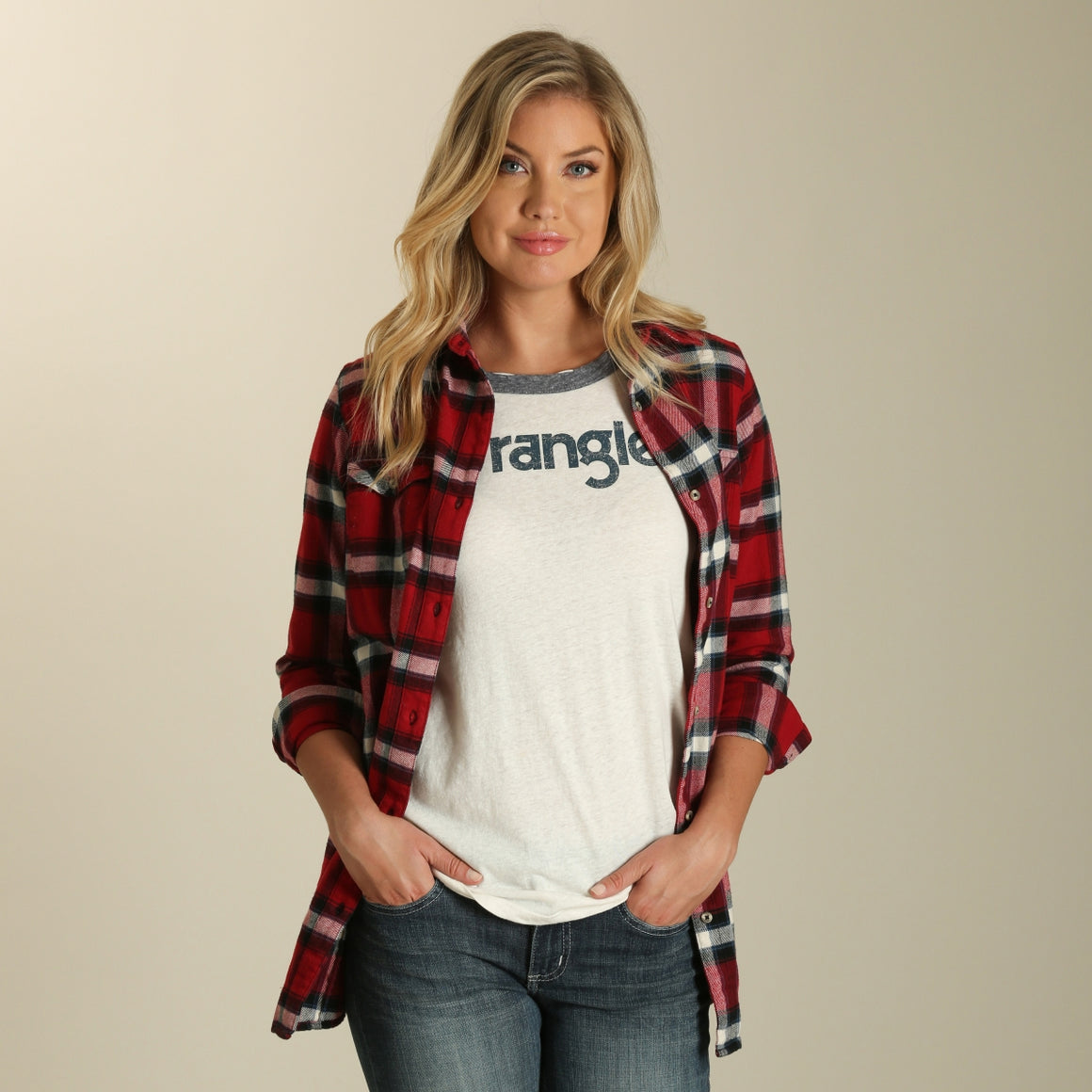 Plaid Boyfriend Fit Flannel
