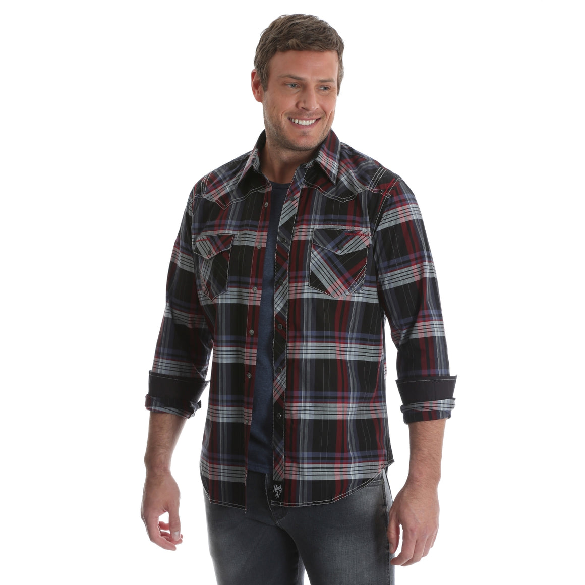 Rock 47 Long Sleeve Western Shirt