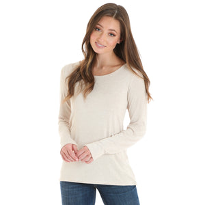 Ruffle Trim Sweater Top