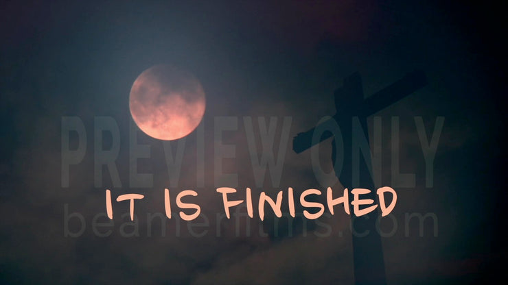 'It Is Finished' Image
