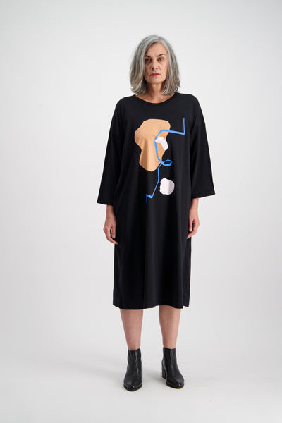"Gaard ""Abstract"" Dress"