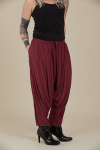 Crane Trousers (Plum)
