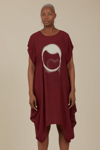Crow Dress (Crimson)