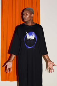 "Gaard ""Eclipse"" Oversized T-Shirt Dress"