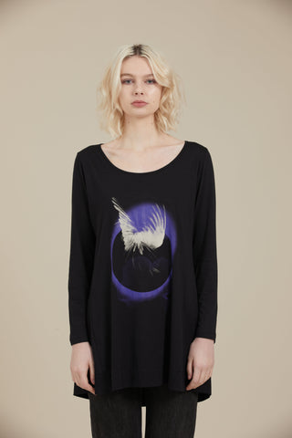 Gaard Eclipse Tee (Wings Print)