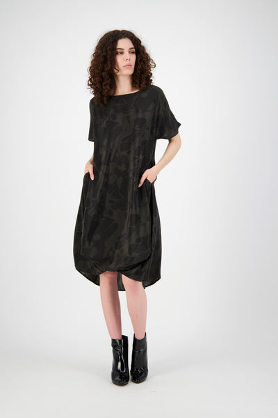 Everywhere Dress (Grey/Black)