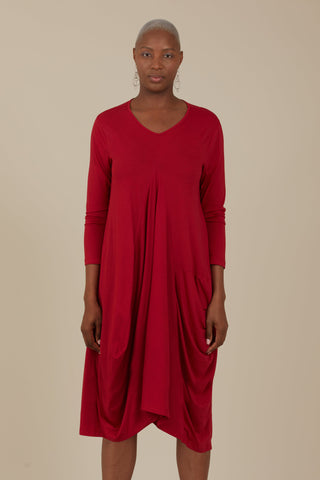 Gaard Helios Dress (Crimson)
