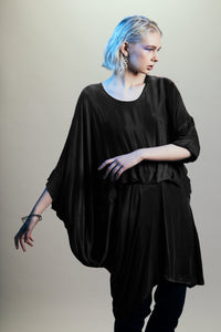 Lovesick Dress/Top (Black)