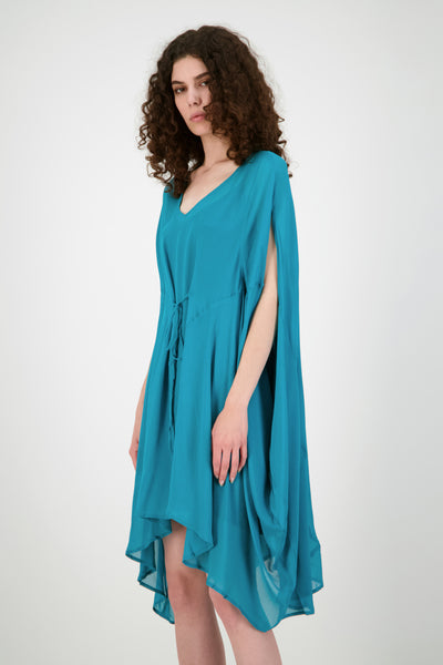 Monarch Dress (Aqua)