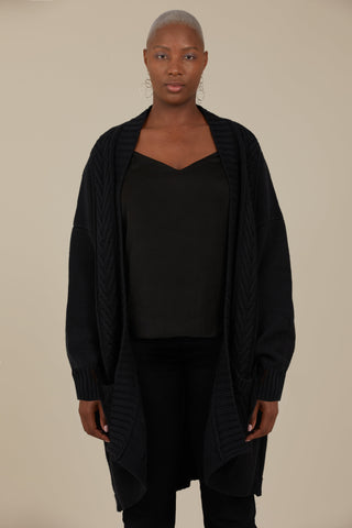 Gaard Orion Cardigan (Black)