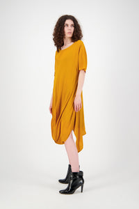 Slant Dress (Gold)