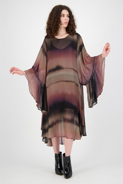 Stevie Dress (Blur Print)