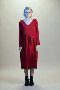 Gaard Thallo Dress (Crimson)
