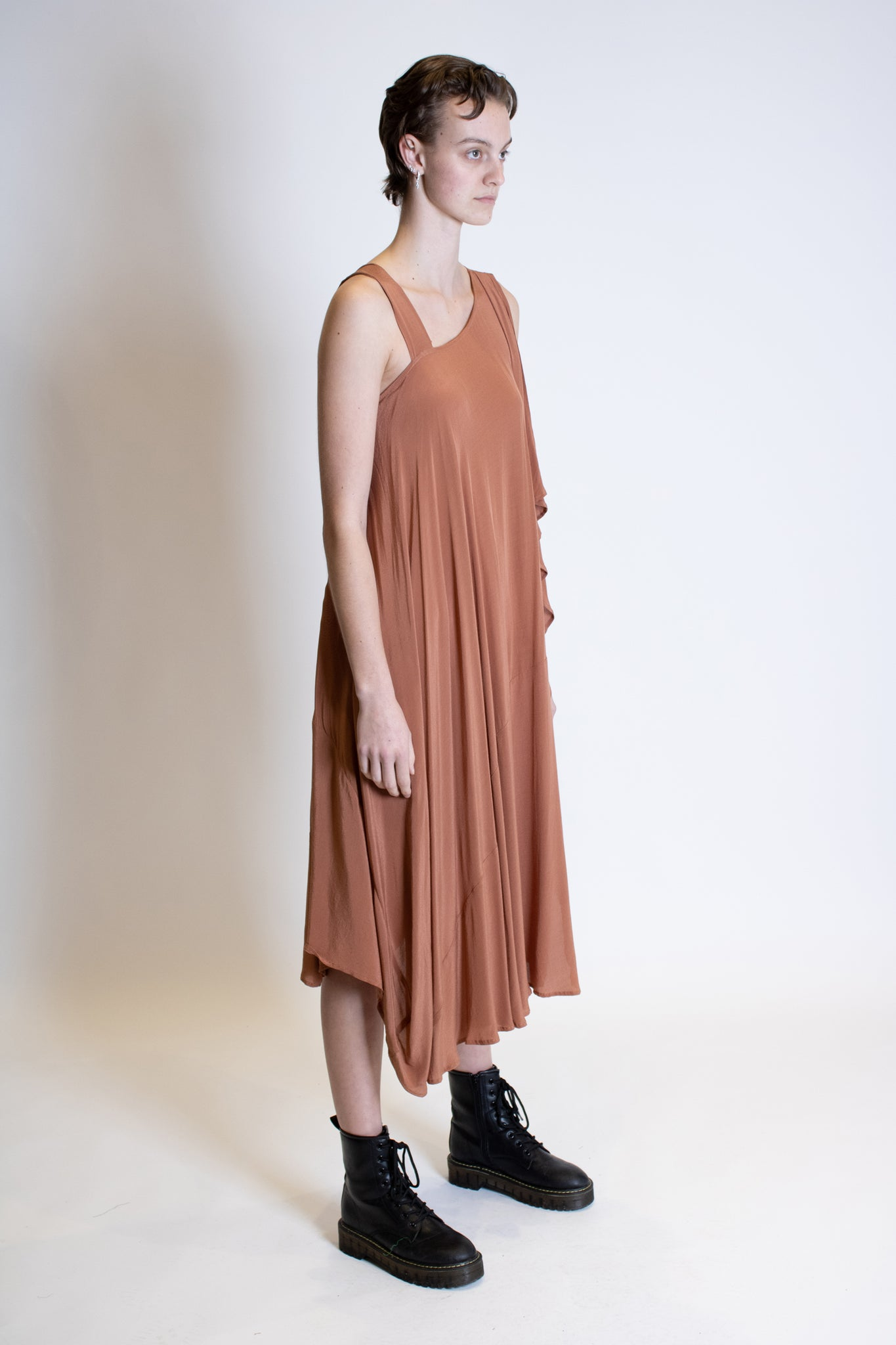 Vitta Dress (Dusty Pink)