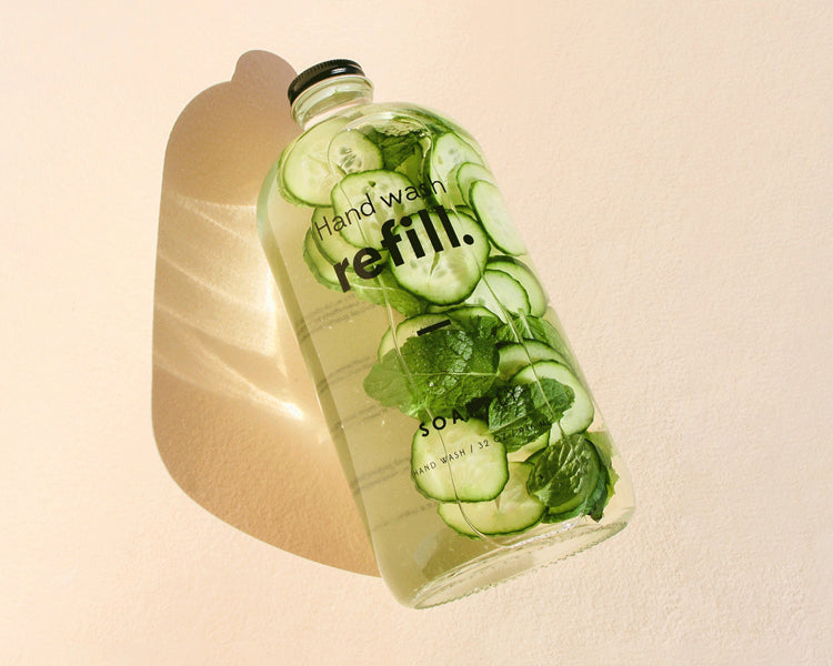 Giving Your Refill Bottle<br>Its Second Life