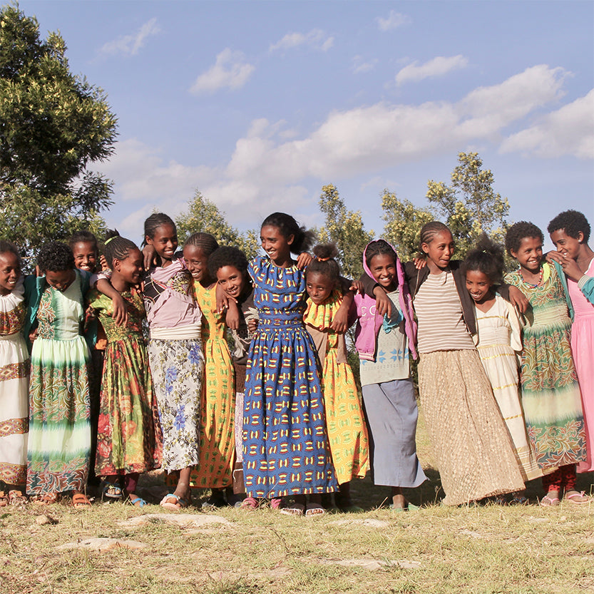 Soapply impact trip girls in Ethiopia