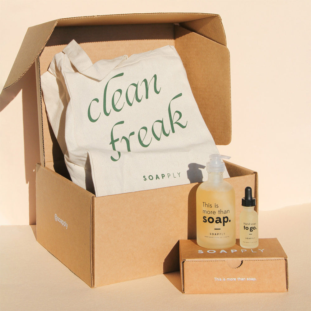 Limited Edition Clean Freak Gift Set - Soapply