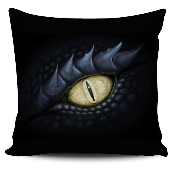 Dragon Eye - Left Pillow Cover  - The Tipsy Dragon