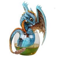 The Whiskey Dragon By Stanley Morrison Figurines - The Tipsy Dragon