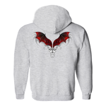 Dragon Wings Hoodie (No-Zip/Pullover) Clothing - The Tipsy Dragon