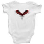 Red Dragon Wings Onesies Baby Clothes - The Tipsy Dragon