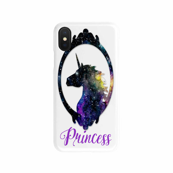 Unicorn Princess Slim Cell Phone Case iPhone Samsung Phone Case - The Tipsy Dragon