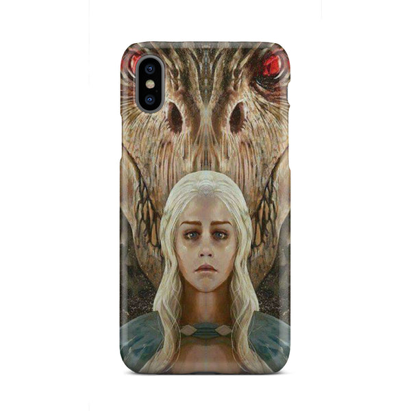 GOT Mother of Dragons Slim Cell Phone Case iPhone Samsung Phone Case - The Tipsy Dragon