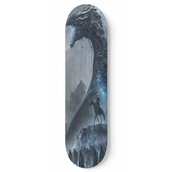 GOT Ice King Skateboard Wall Art or Bare Deck For Build-Up 1 Skateboard Wall Art - The Tipsy Dragon