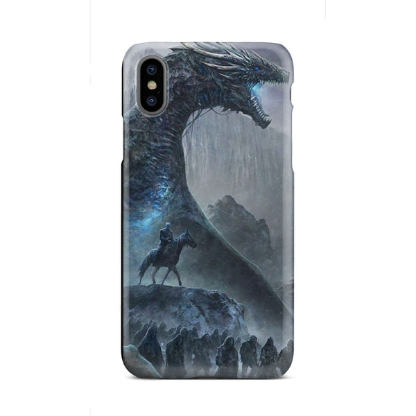 GOT Ice King Dragon and Hoard Slim Cell Phone Case iPhone Samsung Phone Case - The Tipsy Dragon