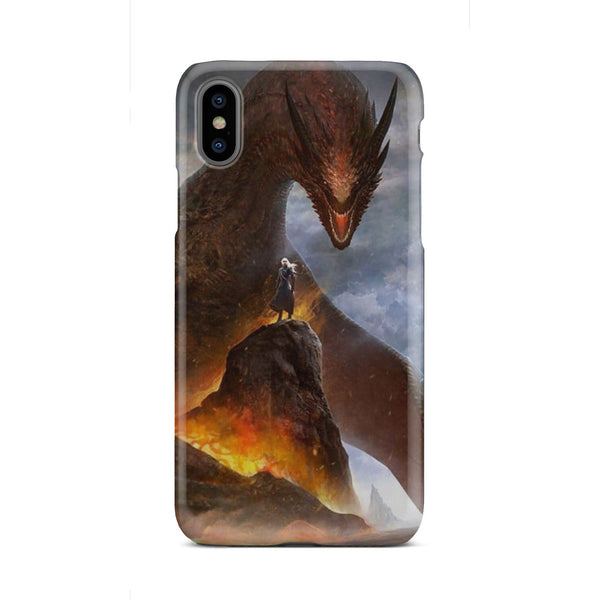 GOT Mother of Dragons Fire Queen Slim Phone Case iPhone Samsung Phone Case - The Tipsy Dragon