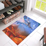 Fire And Ice Dragon Doormat Doormats - The Tipsy Dragon