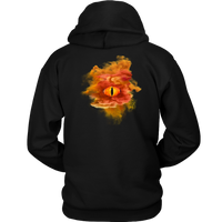 All Seeing Smokey Dragon Eye Hoodie Pull-Over Clothing - The Tipsy Dragon