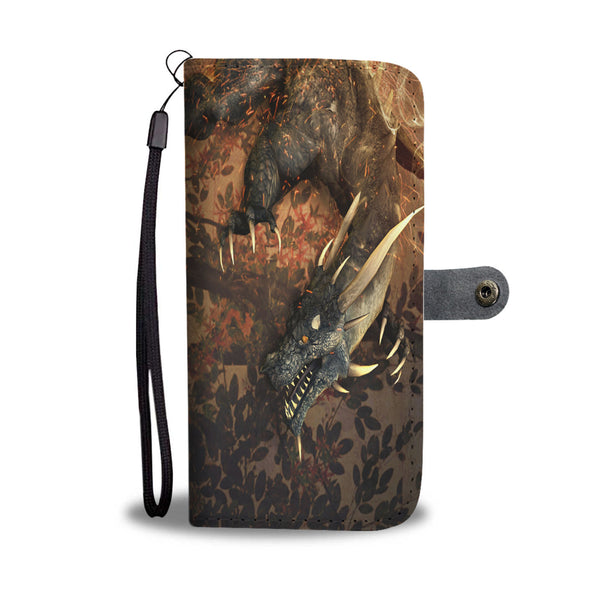 Dragon Front Sword Master On Back Phone Case Wallet Wallet Case - The Tipsy Dragon