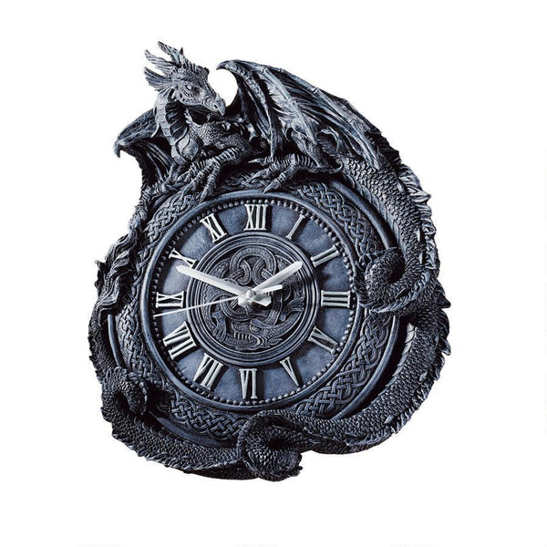 Celtic Knot Dragon Wall Clock Clocks - The Tipsy Dragon