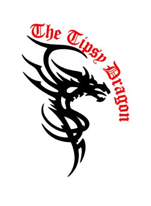 Tribal Blade Dragon Decal My Decals - The Tipsy Dragon