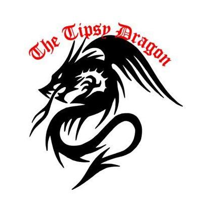 Tribal Winged Dragon Serpent Decal My Decals - The Tipsy Dragon