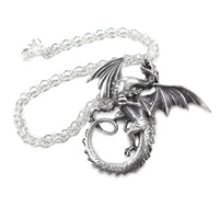 The Whitby Wyrm Pendant Necklace - The Tipsy Dragon