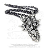 Horned Dragon Skull Necklace Necklace - The Tipsy Dragon